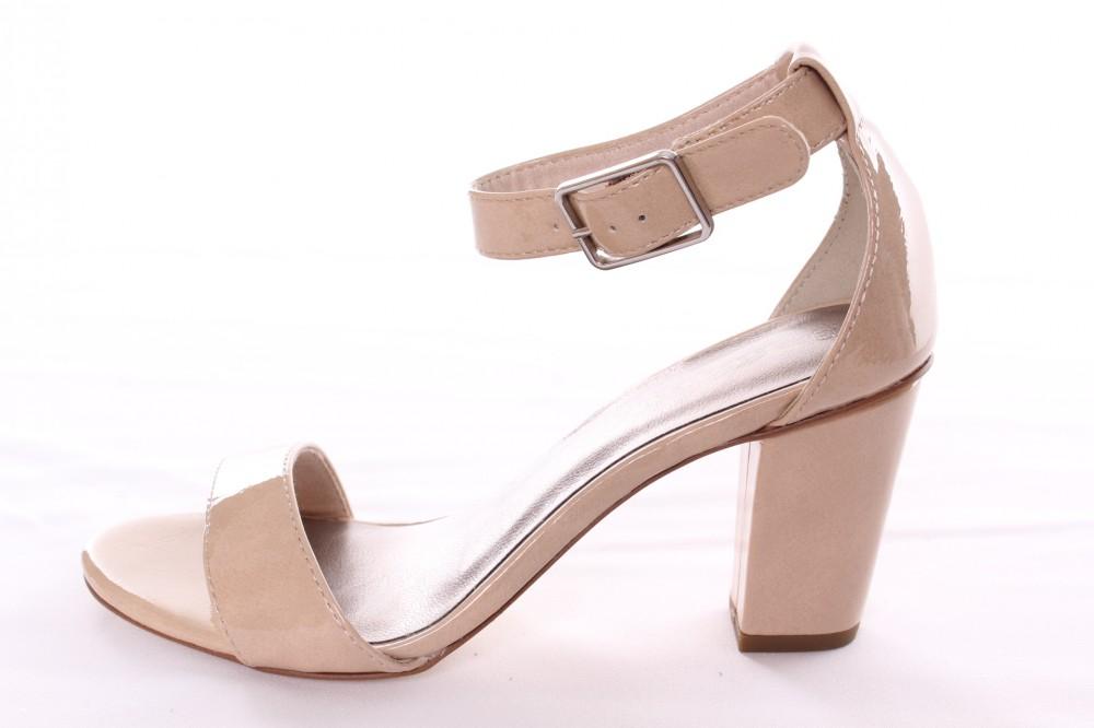e7232e699fa9 Dámske sandále lakované TAMARIS (1-28018-20 253) - béžové (v. 7
