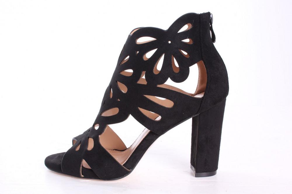 c18eb80b9a2e Dámske sandále SMALL SWAN (A650-1) - čierne (v. 9 cm) - Dámske ...