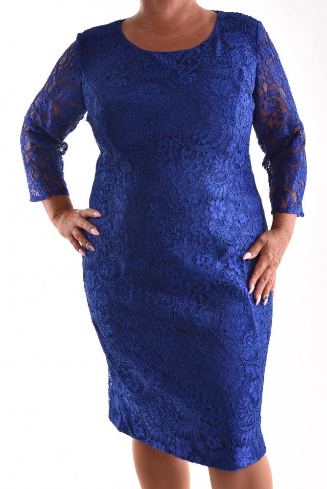 Dámske spoločenské čipkované šaty VZOR 1. - kráľovské modré ... 12b6d0fc81e