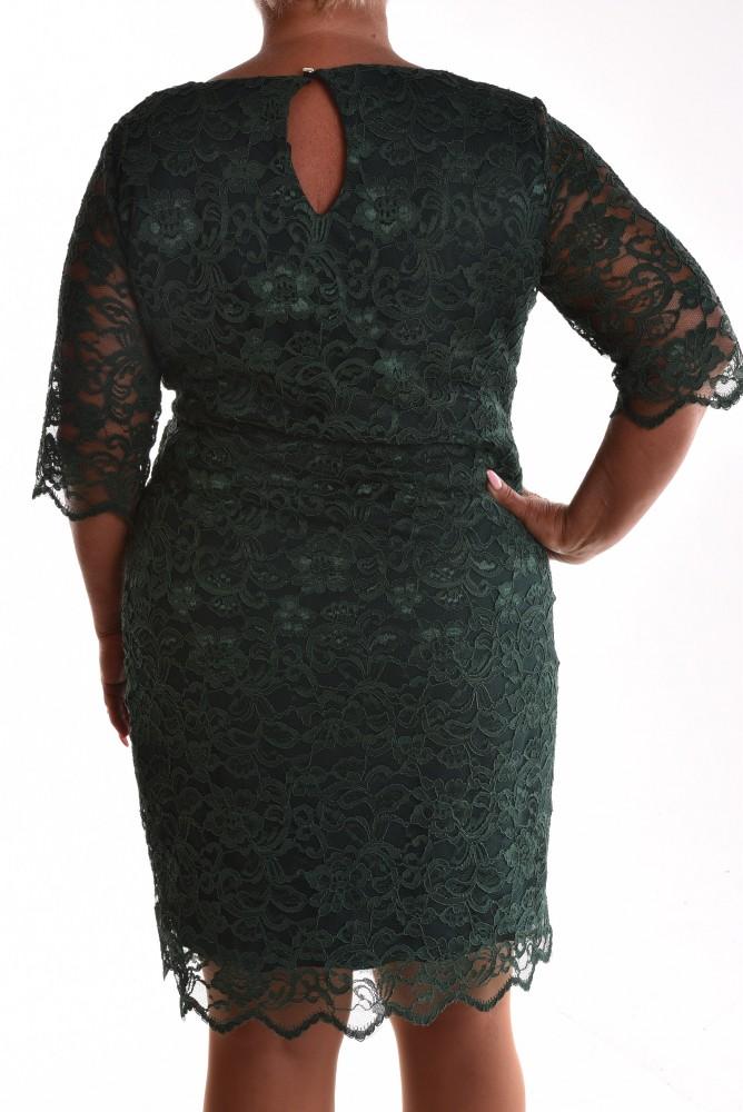 Dámske spoločenské čipkované šaty VZOR 2. - zelené - Spoločenské ... 46b1805ceee
