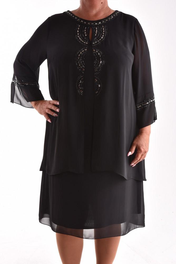 ef43d96e0a8d Dámske spoločenské šaty VZOR 10. - čierne - Spoločenské