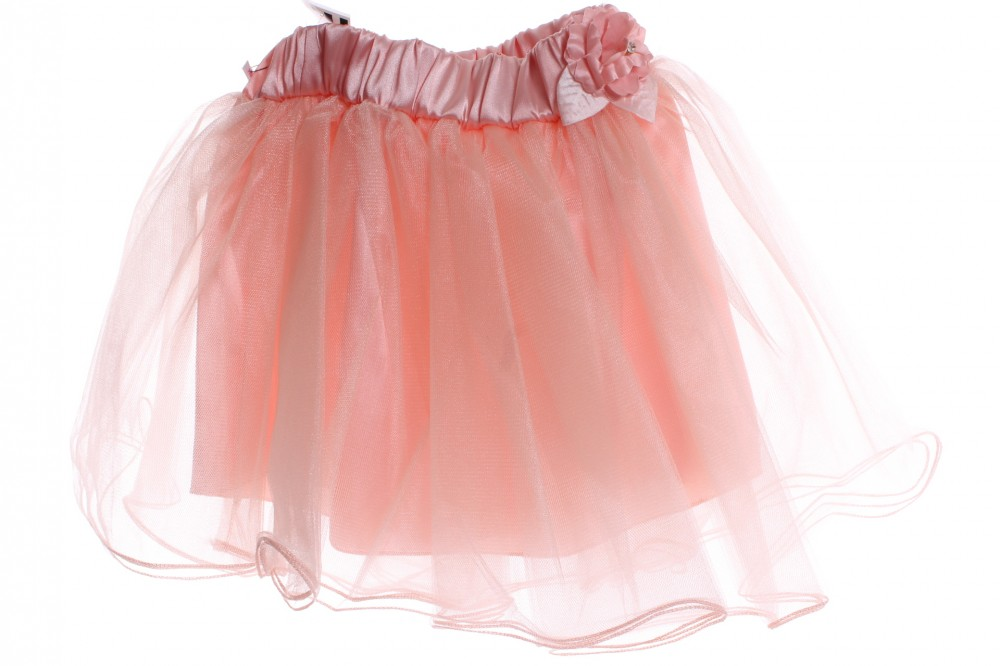 1f57f7dfbb3b Dievčenská tylová sukňa - broskyňová - Dievčenské sukne - Locca.sk