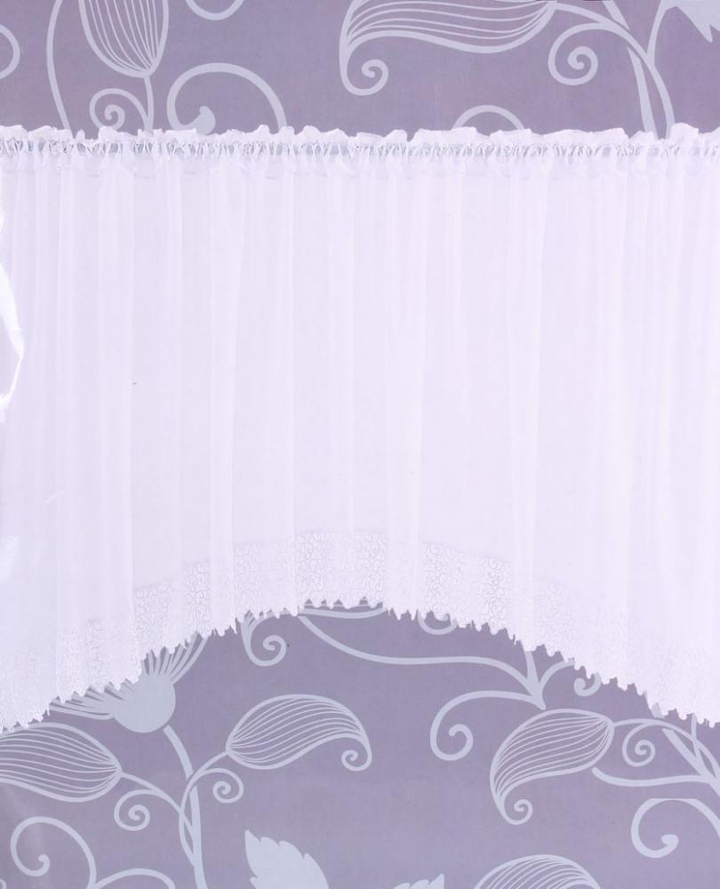 Hotové záclony DS070 (š. 400 cm, v. 150 cm) - biela