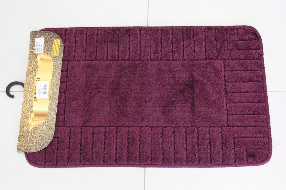 Kúpeľňový koberec SYMBOL-STRIPE TOWEL (35) - fialový (50x80 cm)