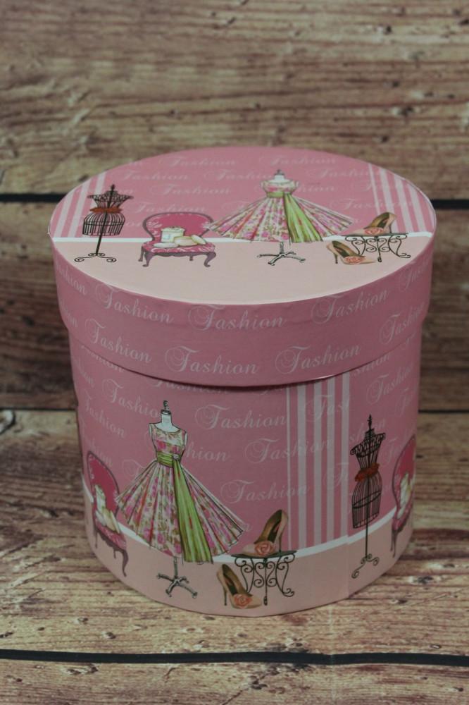Ozdobná krabica FASHION (p. 16 cm, v. 15 cm)