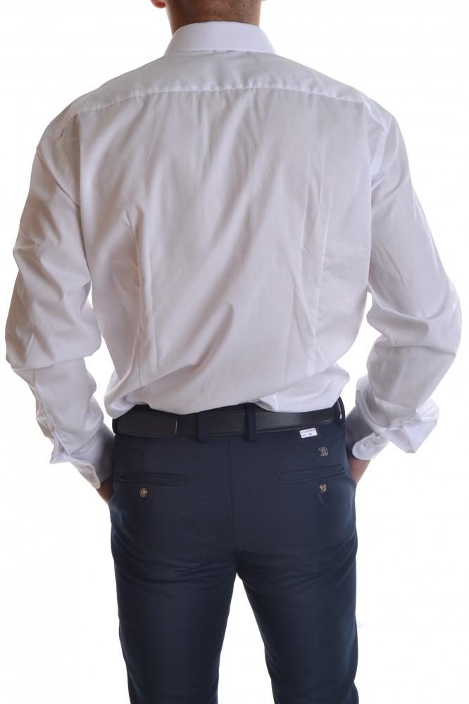 2936eae45fed Pánske spločenské košele · Pánska košeľa - biela CLASSIC P17. Pánska košeľa  - biela CLASSIC P17  1
