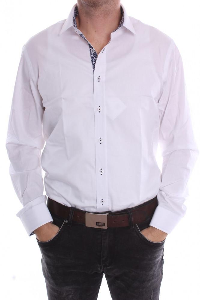 2ee2e799bfc7 Pánska košeľa PIETRO MONTI VZOR 2. SLIM - biela (v. 176-182 cm ...
