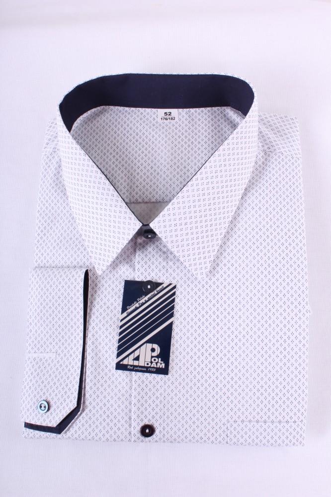 73fe60fa8941 Pánska košeľa VZOR 2. - biela - Pánske spločenské košele - Locca.sk