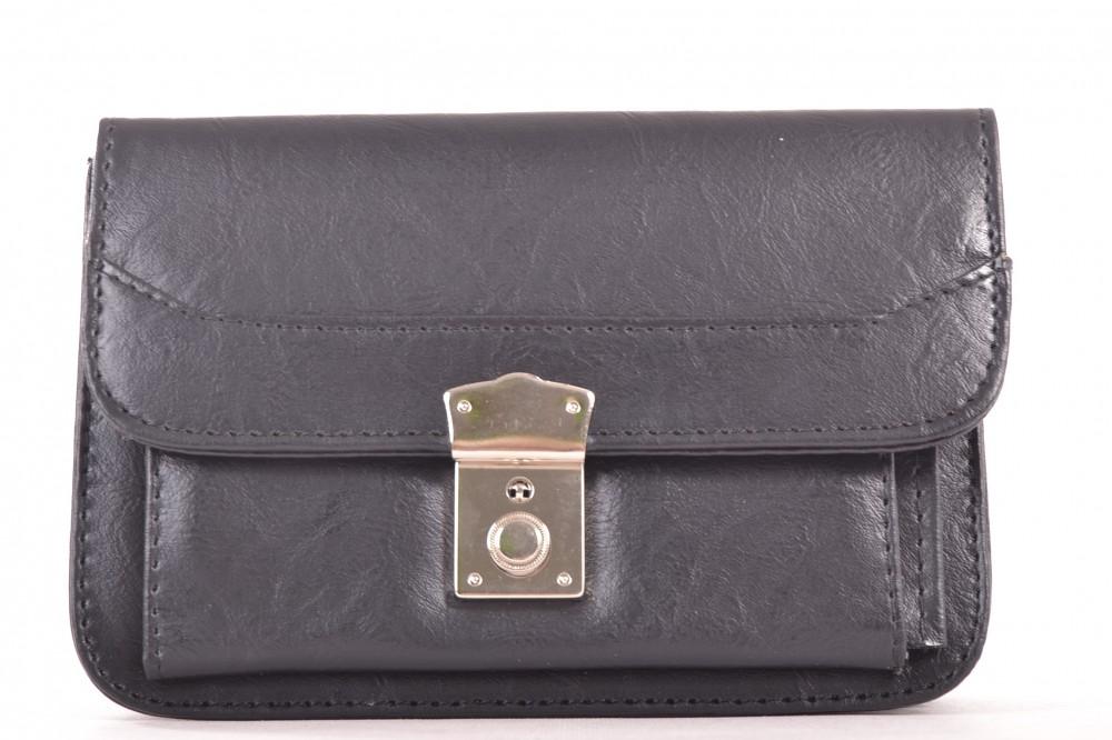 Pánska taška do ruky (20x13 cm) - čierna - Pánske aktovky - Locca.sk 8db92964edf