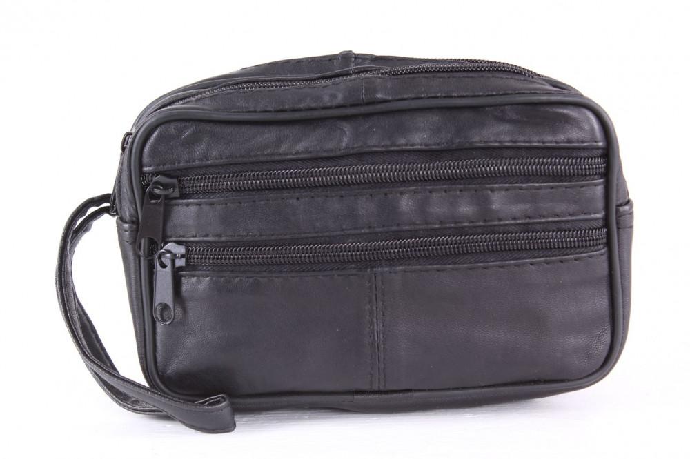 4c29a59de Pánska taška do ruky (LJ04-765S) - čierna (11,5x18 cm) - Pánske ...