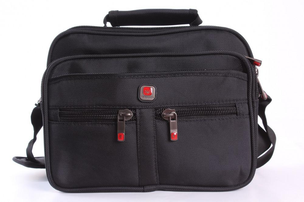 Pánska taška na plece STARDRAGON (X985) - čierna (30x26x11 cm)