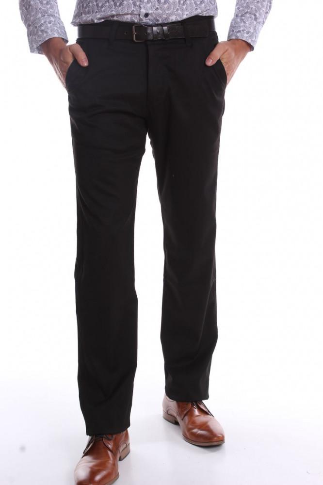 Pánske elastické športovo-elegantné nohavice BENAHOLL - tmavomodré