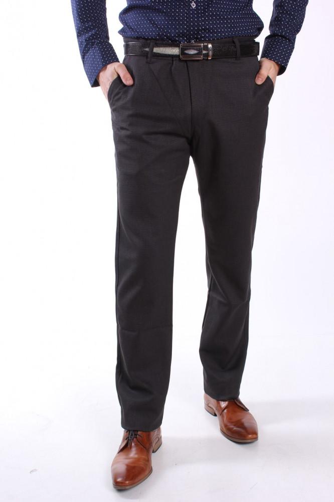 54249dc2ffea Pánske elastické športovo-elegantné nohavice DIVIDERS MODEL 2194 - sivo- čierne