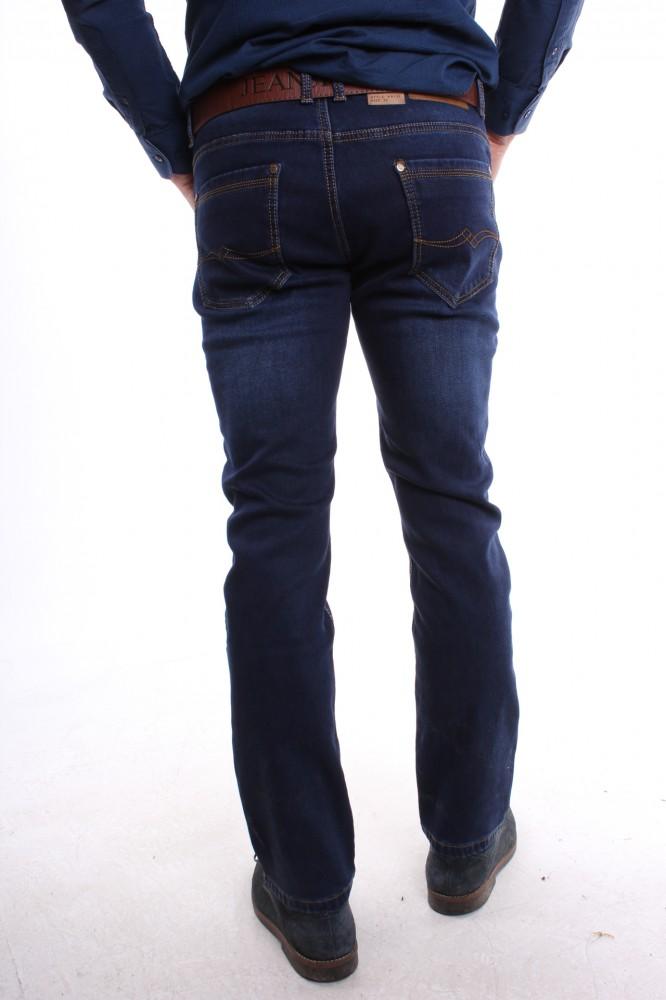 62beb883778e Pánske rifľové zateplené elastické nohavice