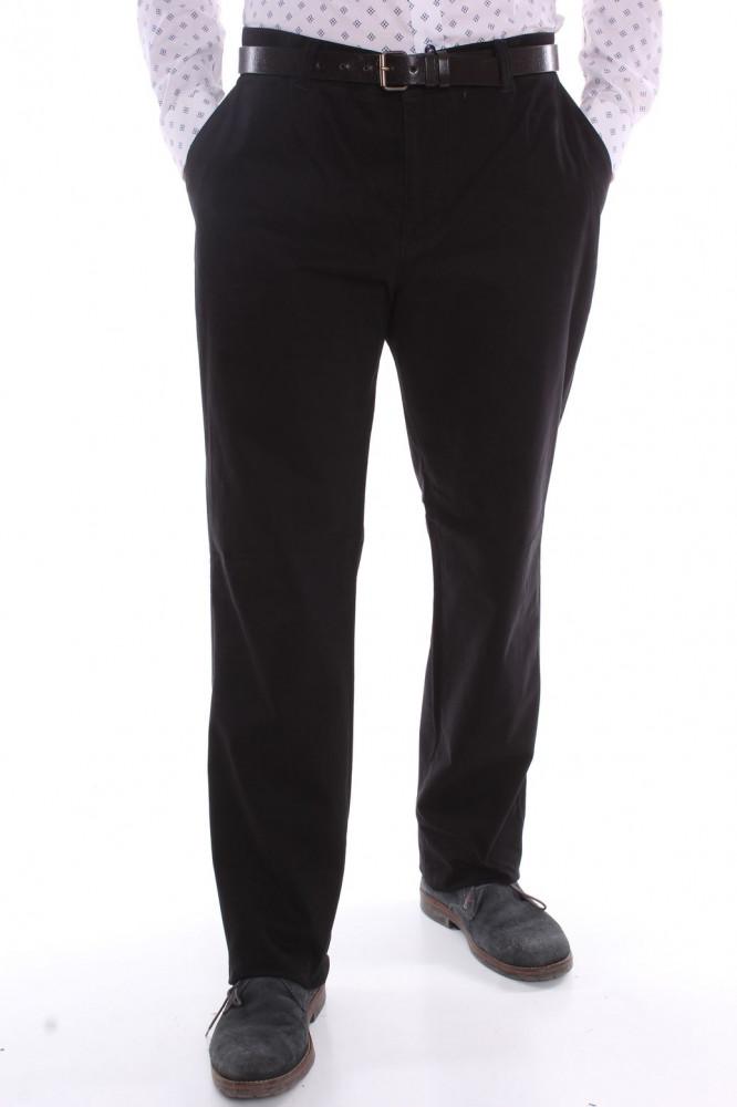 6981025bf63b Pánske športovo-elegantné nohavice (253) VETRINA - čierne - Pánske ...