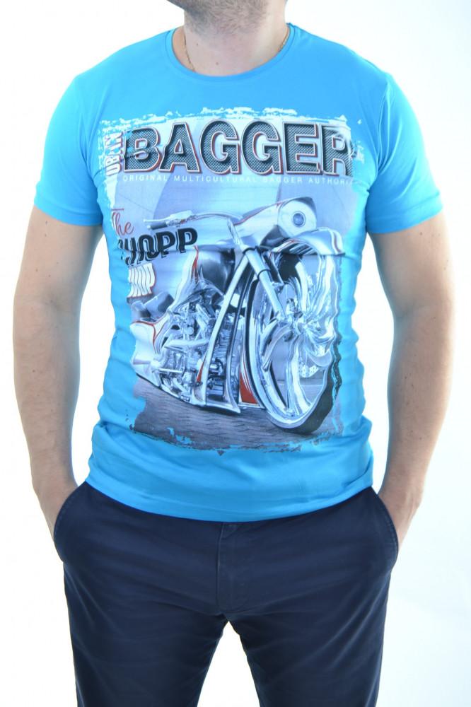 925cfa1e025f Pánske tričko modré
