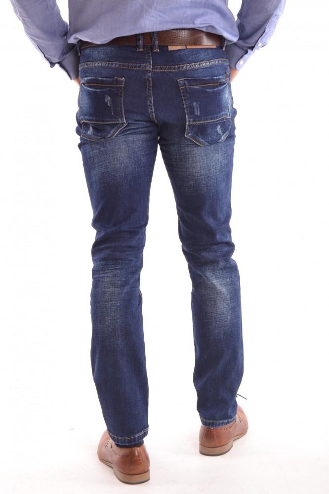 84c2d47cfaba Pánske zimné elastické rifľové nohavice M.SARA (KA 9999) - Pánske ...