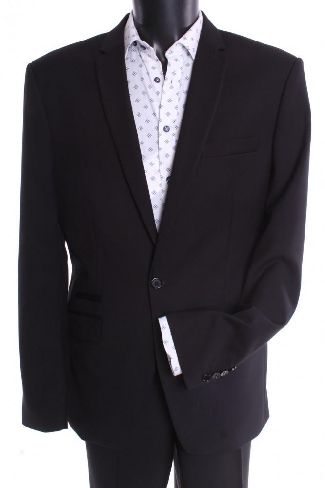 Pánsky oblek JARO - čierny (v. 188 cm)
