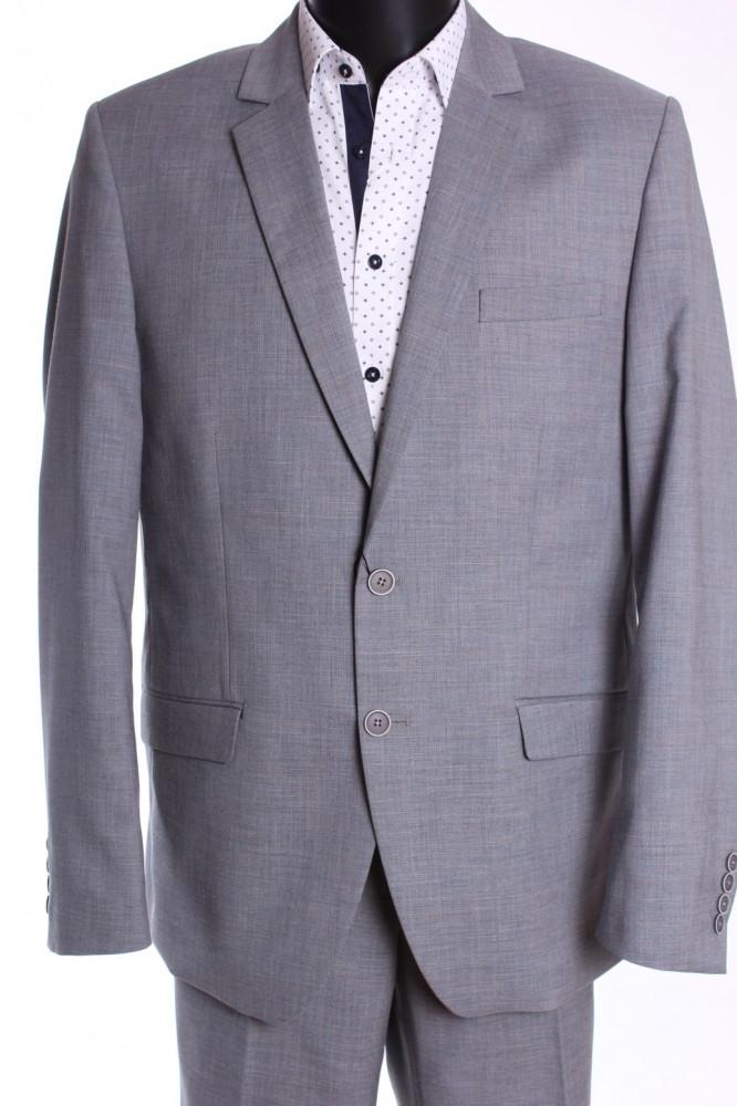 bbc5740d56 Pánsky oblek JULIAN (v. 182 cm) - bledosivý - Pánske obleky - Locca.sk