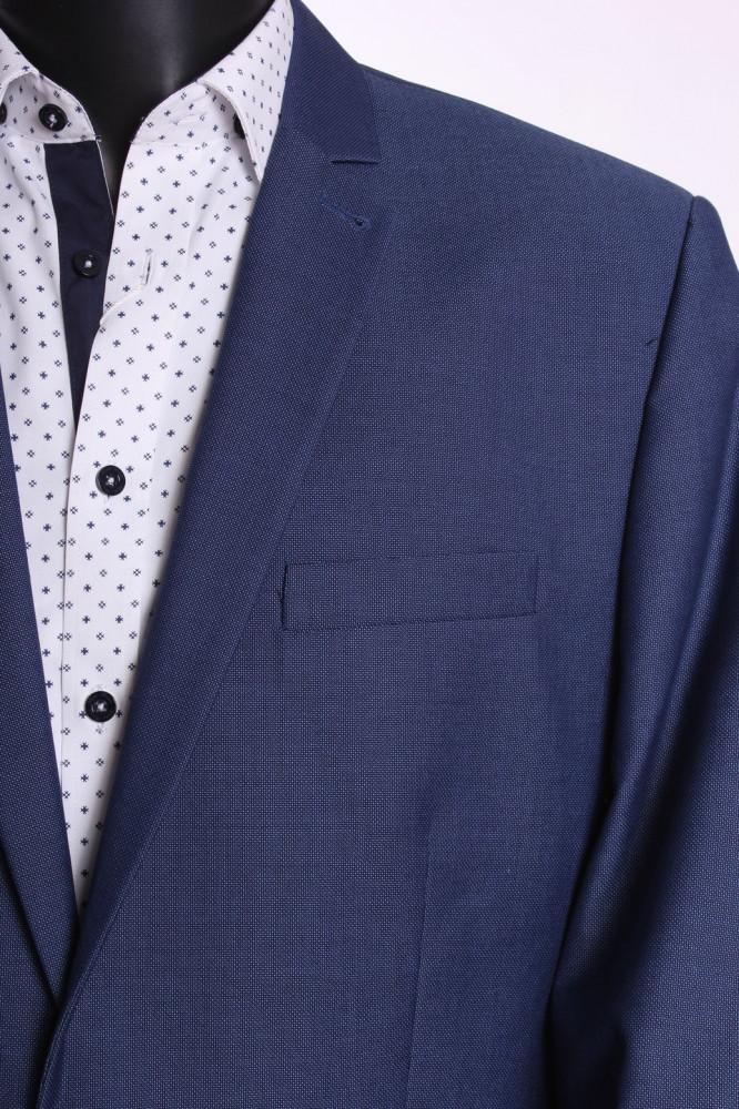 5d51dda06d Pánsky oblek KAROL KLASYK (v. 182 cm) - modrý - Pánske obleky - Locca.sk