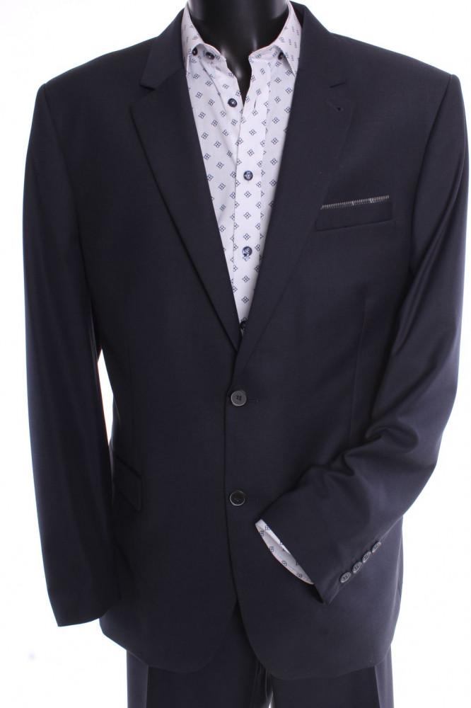 Pánsky oblek SARY B - tmavosivý (v. 182 cm)