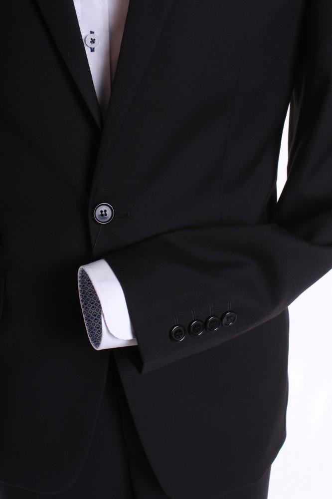 28b35b003b Pánsky oblek SLIM FIT (v. 188 cm) - čierny 2. P10 - Pánske obleky ...