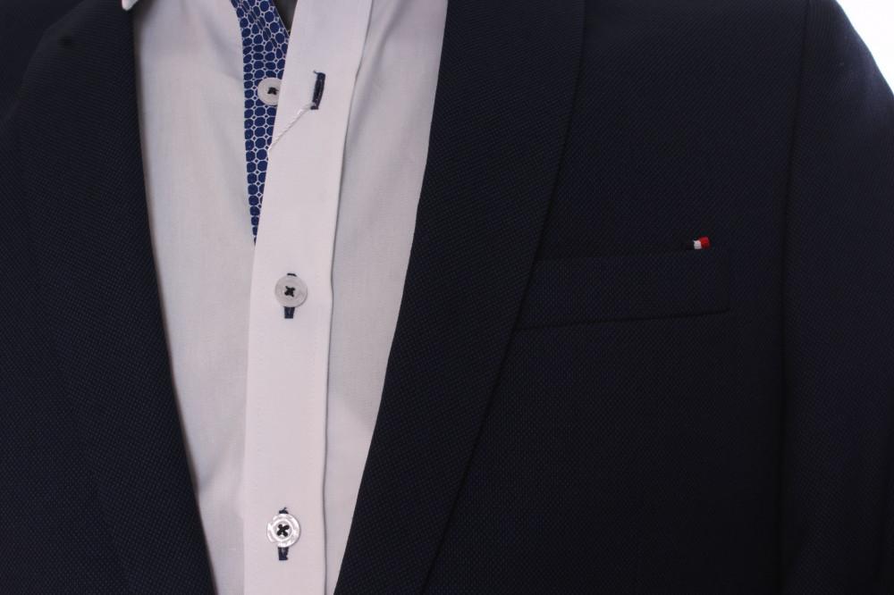 d8e9a9c2bb Pánsky oblek SLIM FIT Žaba (v. 182 cm) - čierno-modrý - Pánske ...