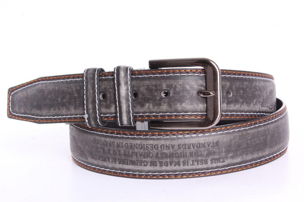 Pánsky opasok (TT60-NO.8) - sivo-čierny (š. 3 580e8f997f