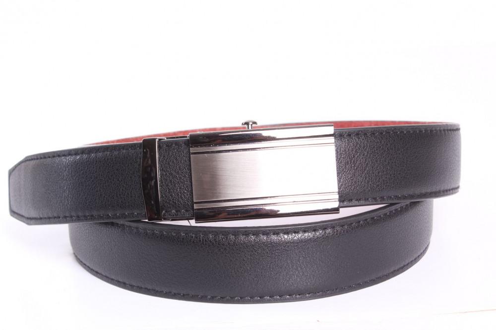 a49bbbf0e Pánsky opasok VZOR 10. - čierny (š. 3,5 cm) - Pánske elegantné ...