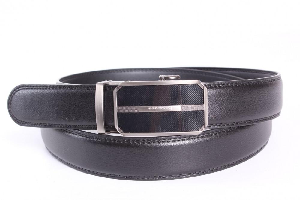 86d35c493 Pánsky opasok VZOR 8. - čierny (š. 3,5 cm) - Pánske elegantné opasky ...