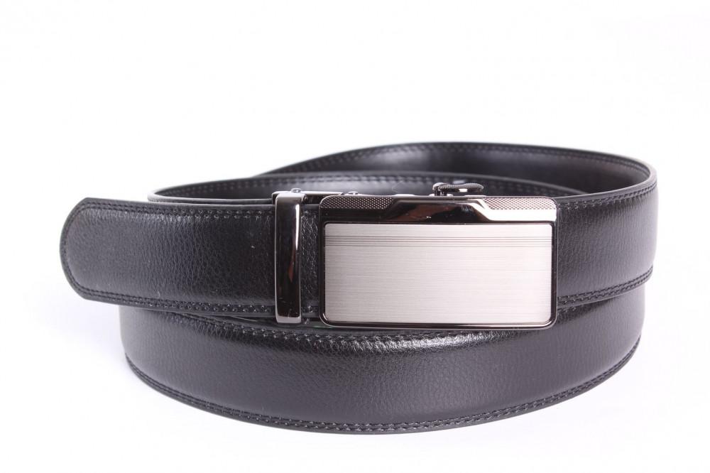 261841123 Pánsky opasok VZOR 9. - čierny (š. 3,5 cm) - Pánske elegantné opasky ...