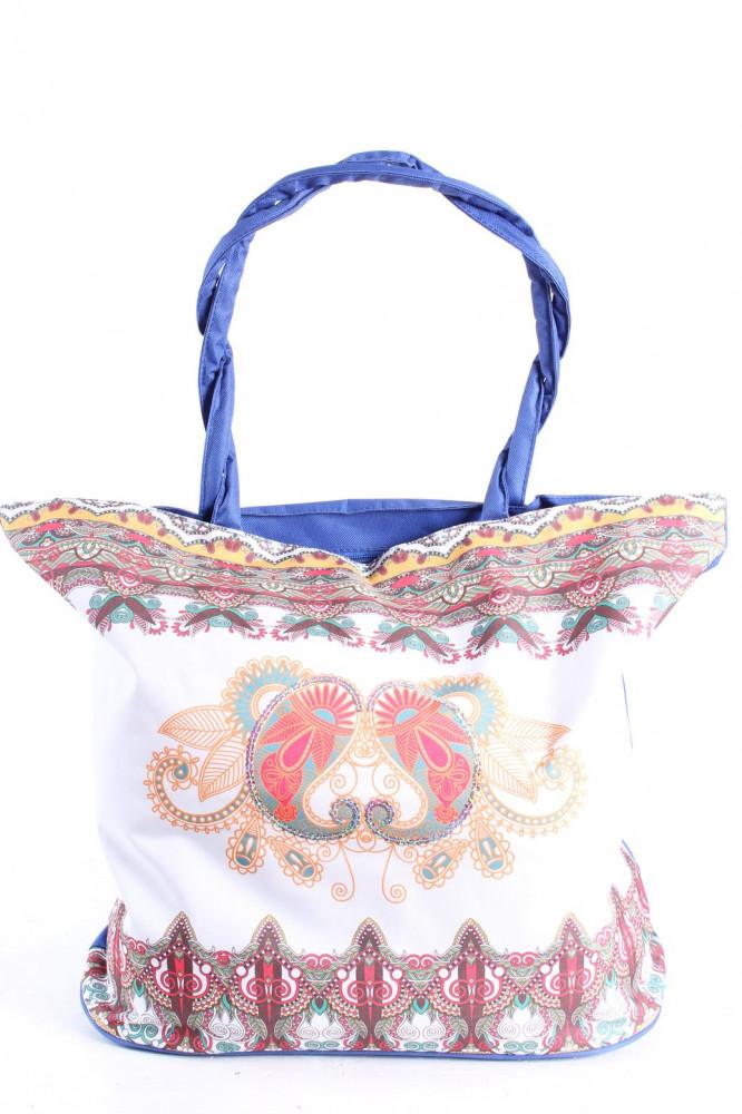 Plážová taška 19017 (55x43x20 cm) - modrá