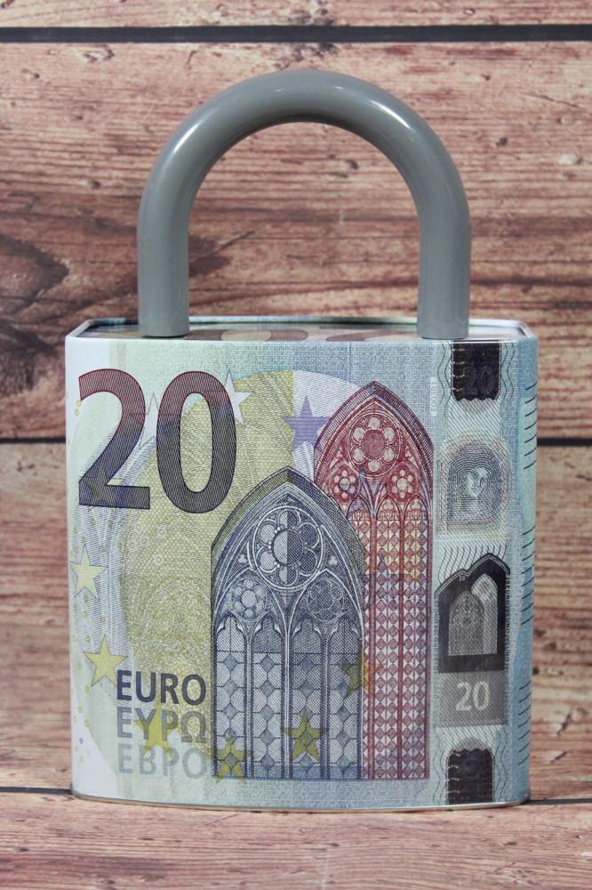 Pokladnička 20 EURO (v. 24,5 cm, p. 16 cm)