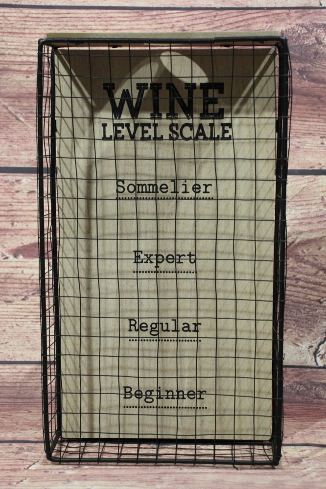 Zberač štuplov WINE LEVEL SCALE (18x32x5,5 cm)