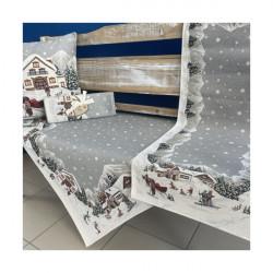 Gobelinový behúň na stôl 40x50 cm Eden 1004 Viacfarebná 40 x 50 cm