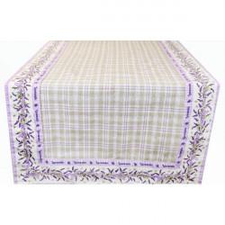 Behúň na stôl levanduľa Fialová 45 x 150 cm