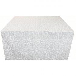 Vianočný behúň na stôl 50x150 cm Made in Italy Biela 50 x 150 cm