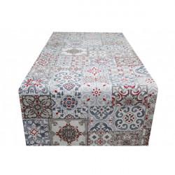 Behúň na stôl Majolika MIG303 Made in Italy, 50 x 150 cm