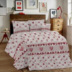 Bavlnené obliečky MIG002PT Patchwork červené Made in Italy, Červená, 1x80x80/1x140x200 cm