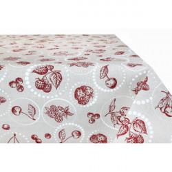Bavlnený obrus 759OVK 90x90 cm Made in Italy Červená 90 x 90 cm