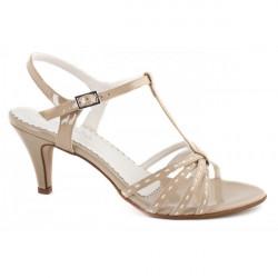 Béžové dámske sandále 881 ZODIACO, Béžová, 40