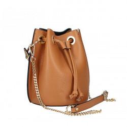 Biela vaková kožená kabelka 5319, Biela #2