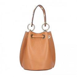 Biela vaková kožená kabelka 5319, Biela #4