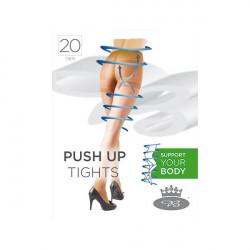 Boma Podporné pančuchové nohavice s elastanom a formujúcim sedom 1471, M, Opal
