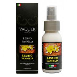 Bytový naturálny sprej  Vaquer LEGNO VANIGLIA  (vanilkové drevo) 60 ml