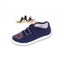 Chlapčenské tenisky 1249, Veľkosť obuvi 32, Farba tmavomodrá