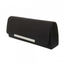 Čierna spoločenská kabelka 399B Michelle Moon, Čierna #1