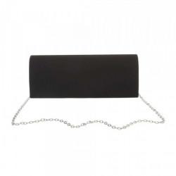 Čierna spoločenská kabelka 399B Michelle Moon, Čierna #2