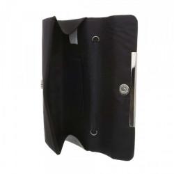 Čierna spoločenská kabelka 399B Michelle Moon, Čierna #3