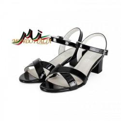 Čierne dámske sandále 1121 ZODIACO, Čierna, 40 #1
